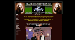 Preview of blackcountryboxing.co.uk