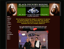 Tablet Preview of blackcountryboxing.co.uk
